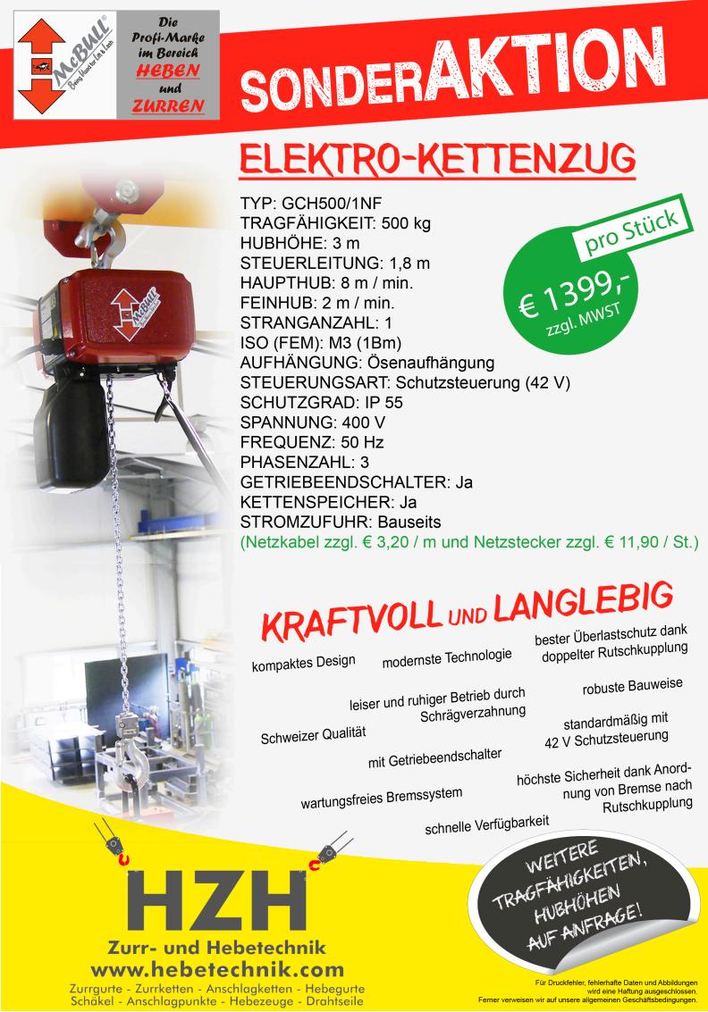 1000/kg tractel amz1022072/Tralift Kettenzug mit verzinkt 10/m